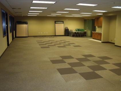 Children's Church After Carpet Repair