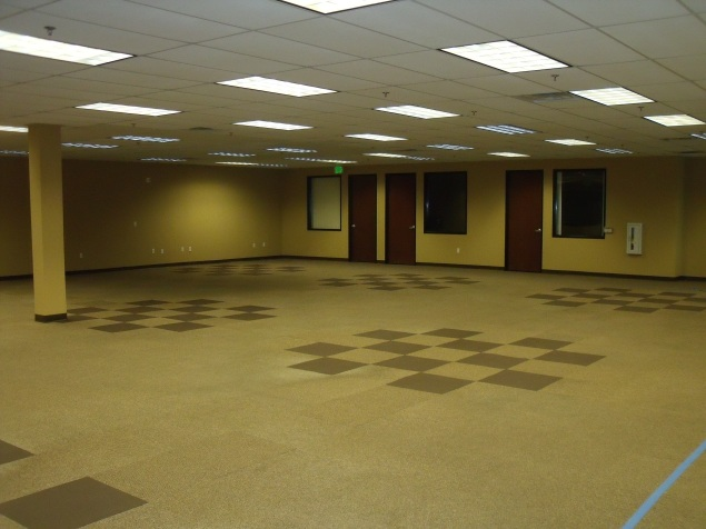 Sanctuary with New Carpet