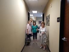 Ladies heading to the Coffee Sho