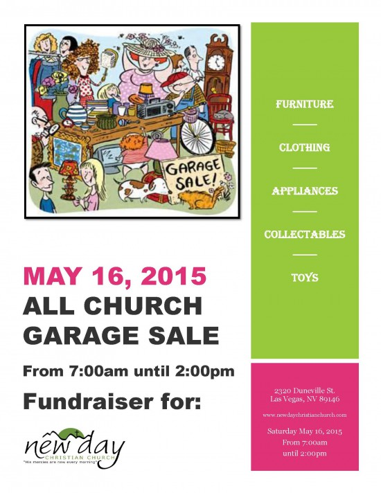 New Day Garage Sale