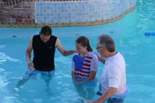 April is Baptized