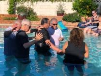 Baptism at New Day Christian Church